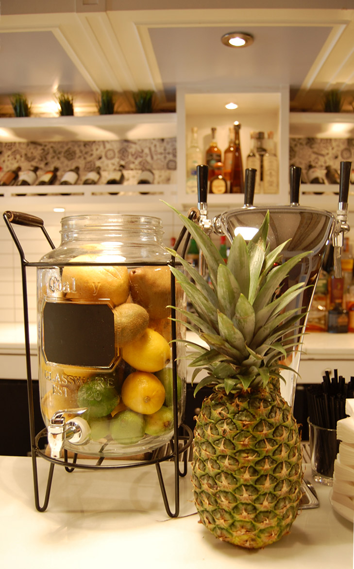 Mulberry Project's famous Bespoke Cocktails made from fresh ingredients are now made at Aunt Jake's Greenwich Village